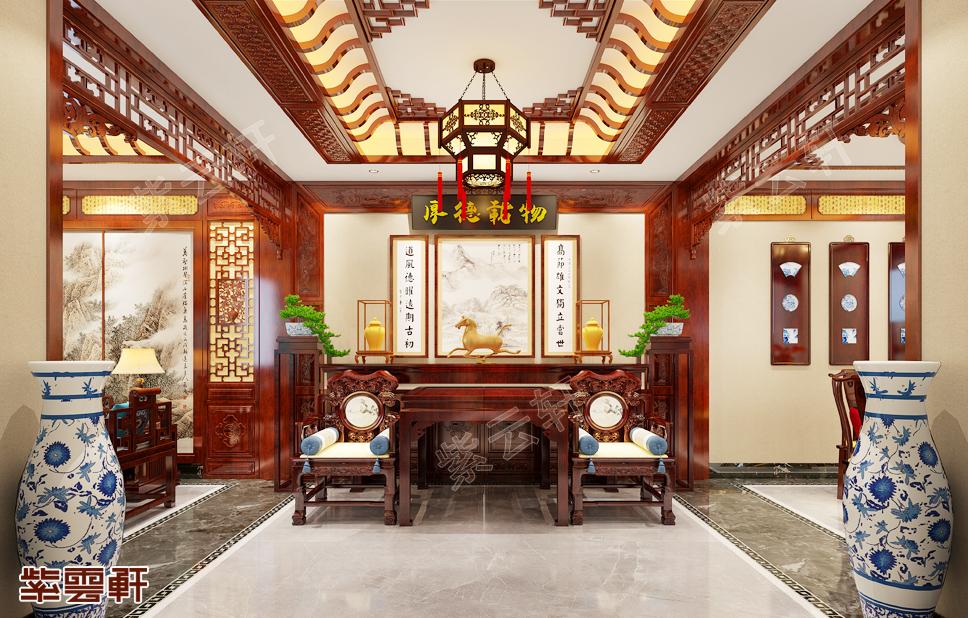 太原有钱人是这样装修的-中式别墅装修