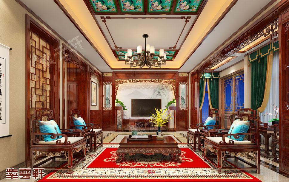 带你来见识真正的中式别墅是怎样装修的