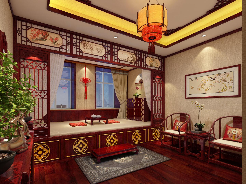 这套中式别墅不仅仅高级更让人感觉自由自在