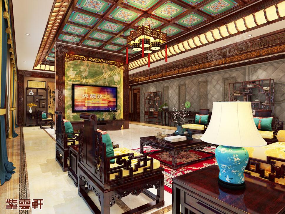 """""""八百里秦川""""的中式别墅,原来是这样装修的"""
