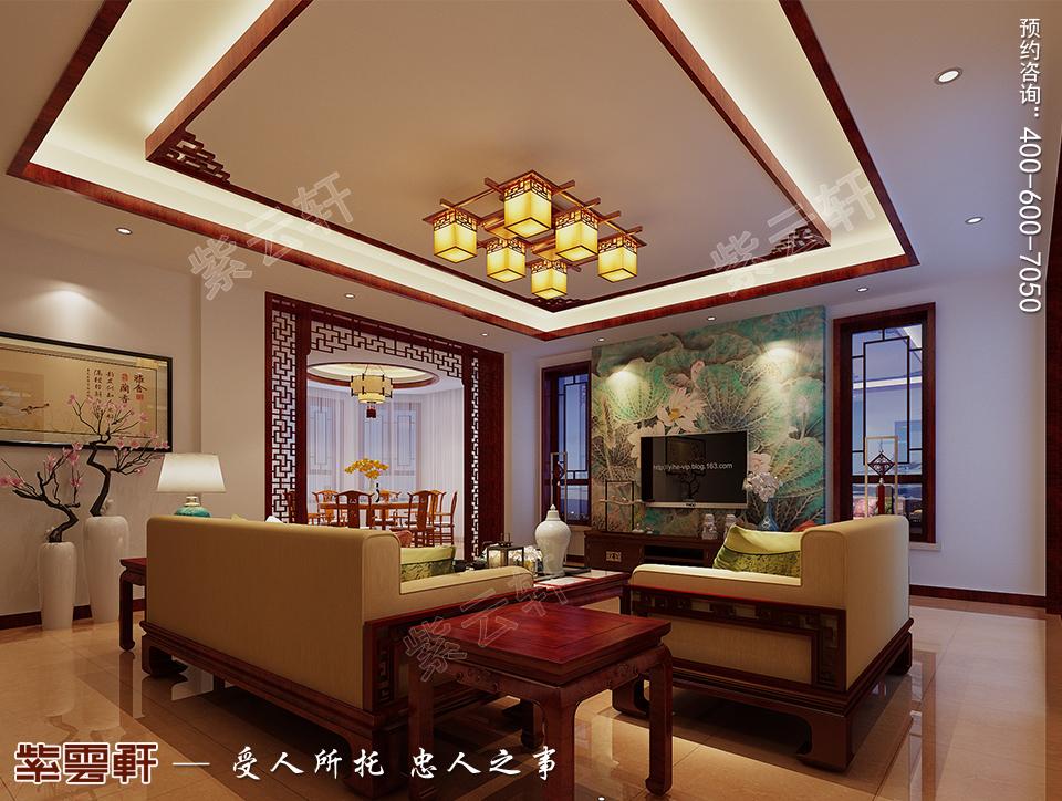 钟灵毓秀的天津别墅中式设计,美轮美奂!