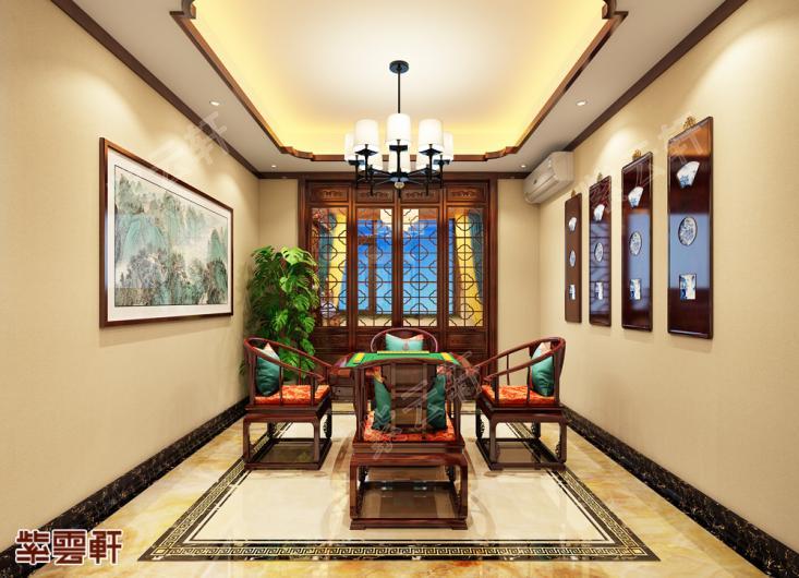表哥家刚完工的简约别墅中式装修太惊艳了