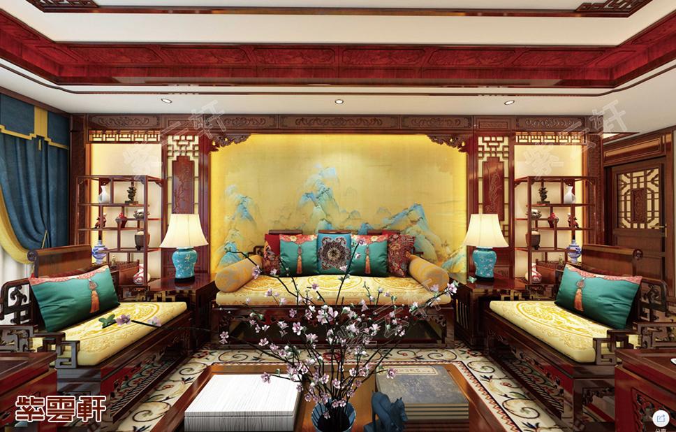 独美于烟雨江南的别墅中式设计,是你想要类型吗