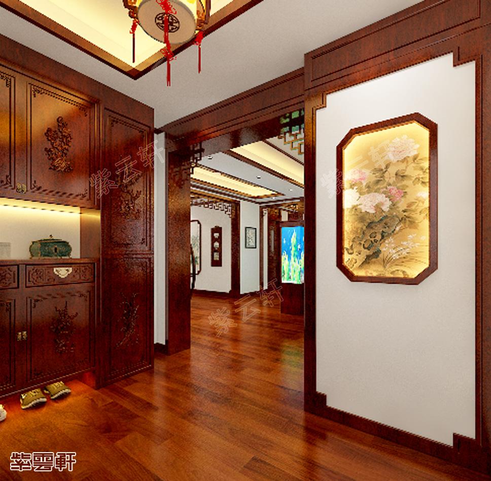中式门厅设计