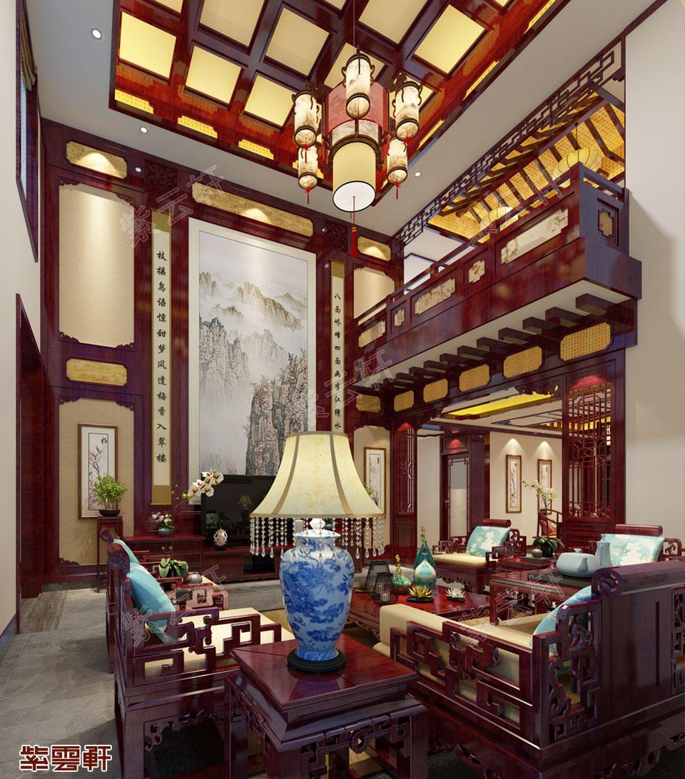 客厅中式图片