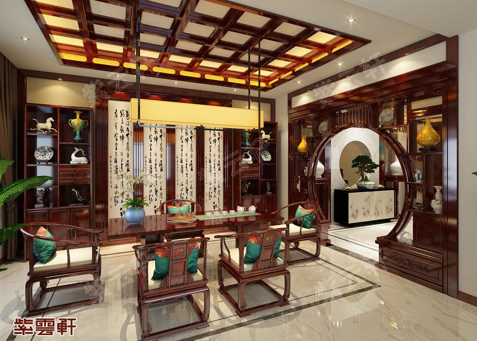 中式装修风格茶室