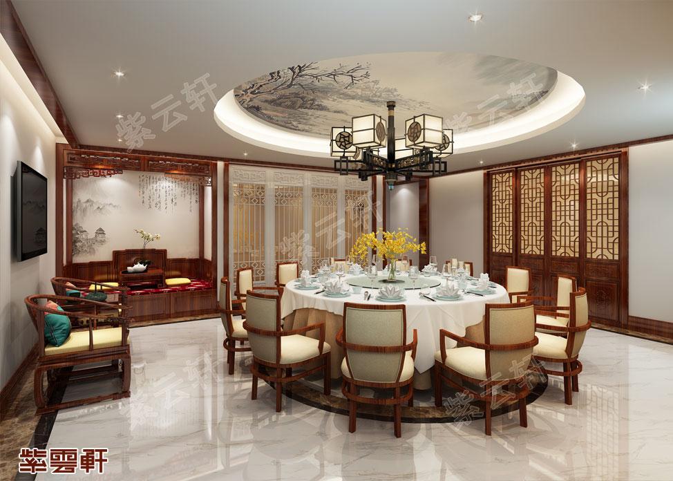 中式装修风格餐厅