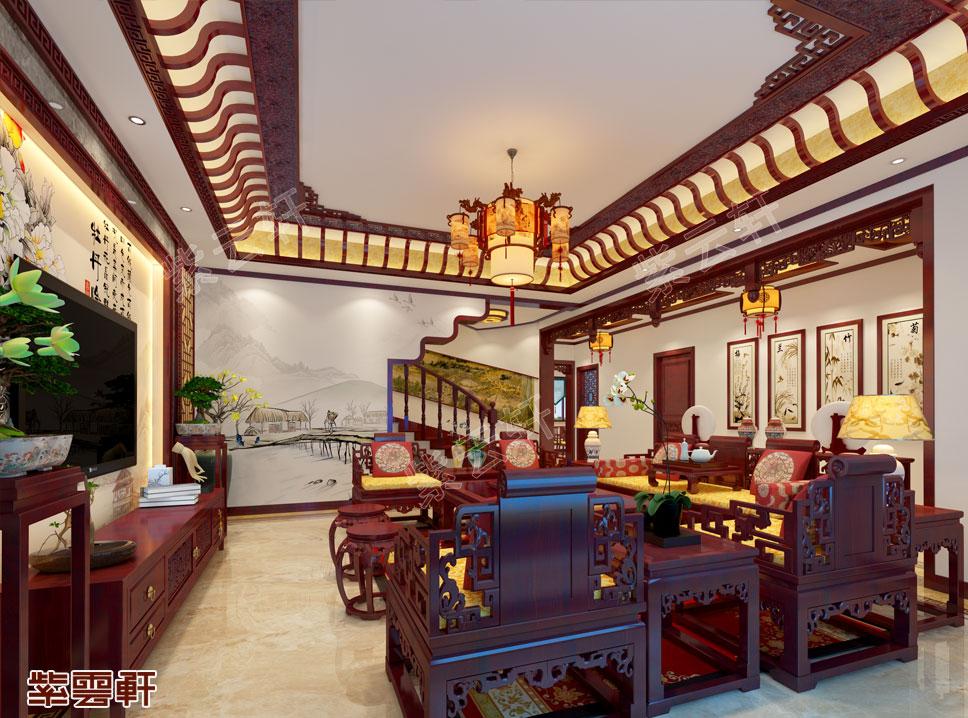 复古惹人爱的别墅中式装修,现在可以拥有了