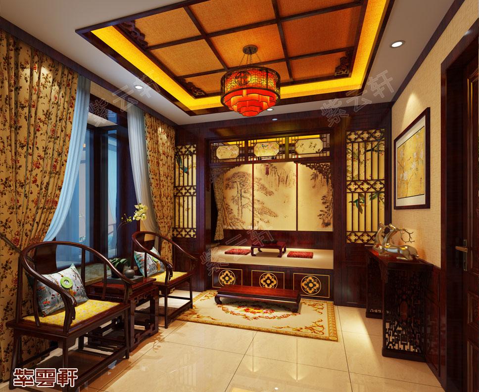 中式装修暖阁