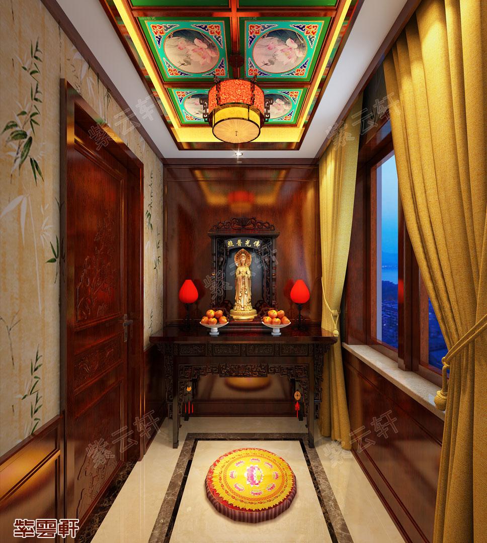 中式装修佛堂