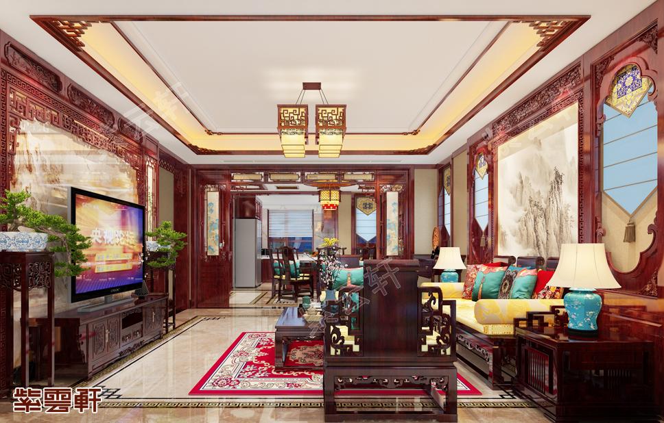 坐拥时尚别墅中式装修,品一段艺术人生