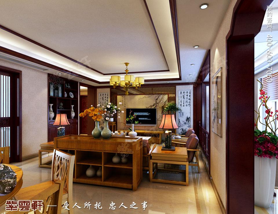 客厅现代新中式风格装修