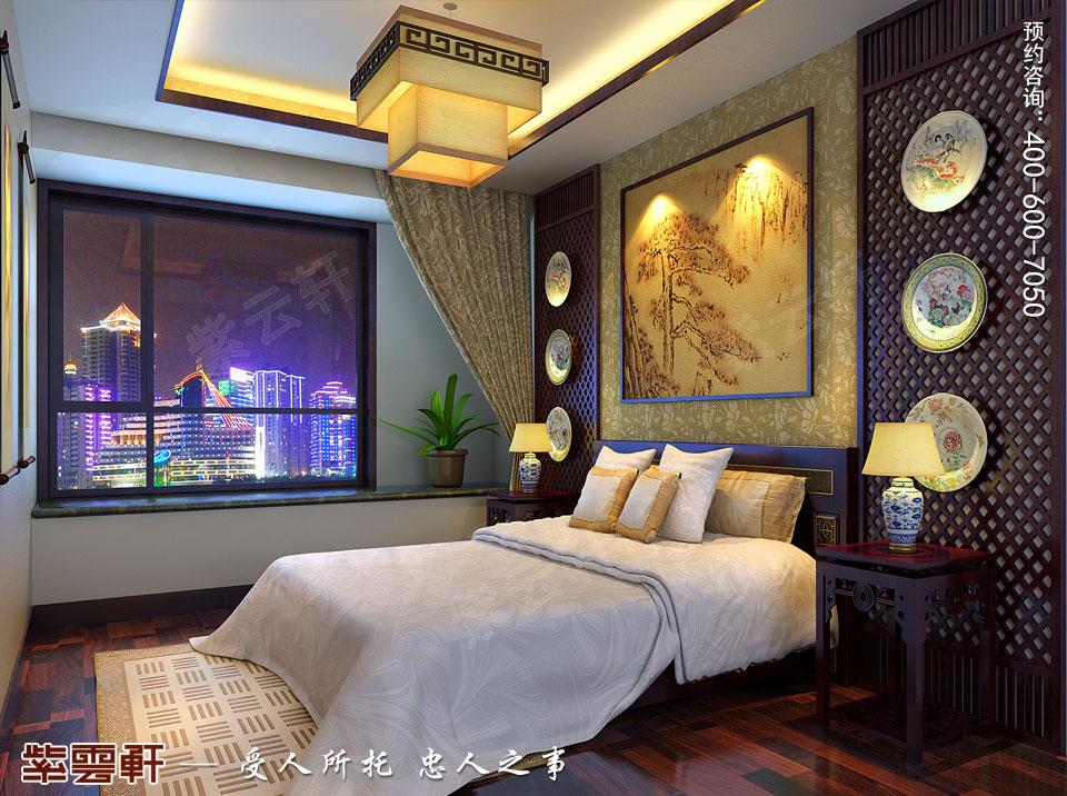 次卧现代中式装修