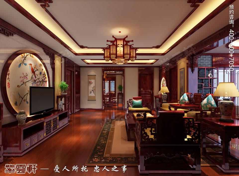 客厅简约中式装修