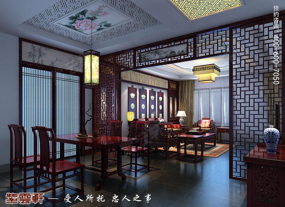 餐厅新中式装修风格效果图