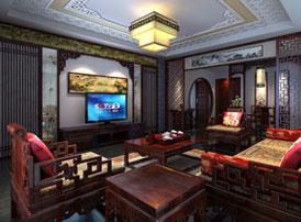 山西太原复式楼新中式装修风格 高雅尊贵的东方气质