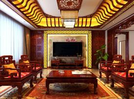 哈尔滨复式洋房现代中式风格装修图片 蓬莱深处恣高眠