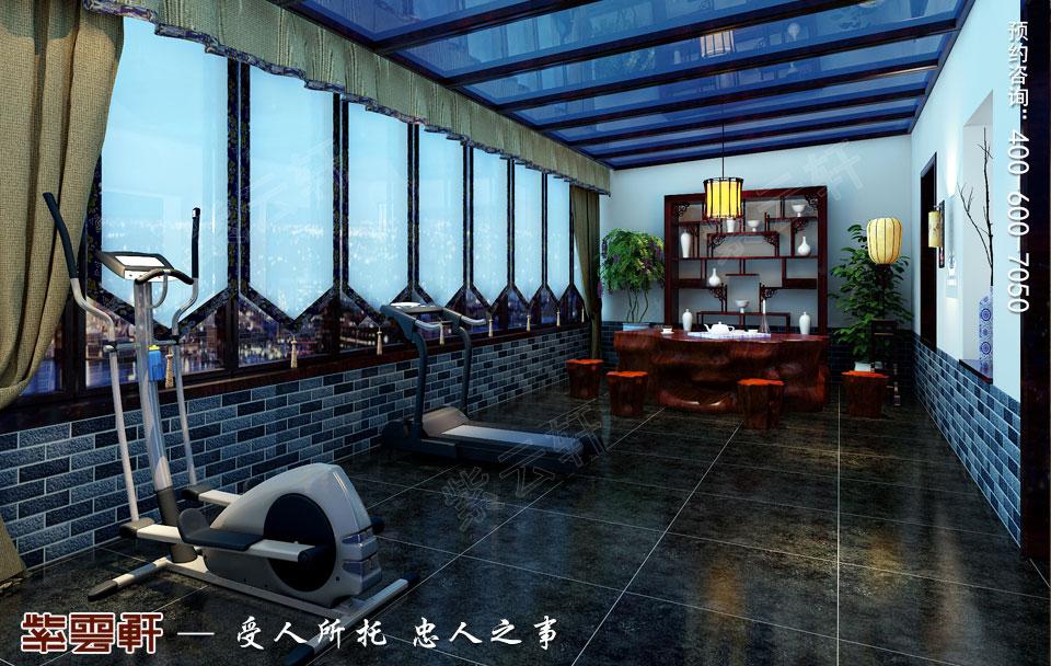 休息室阳台现代中式装修