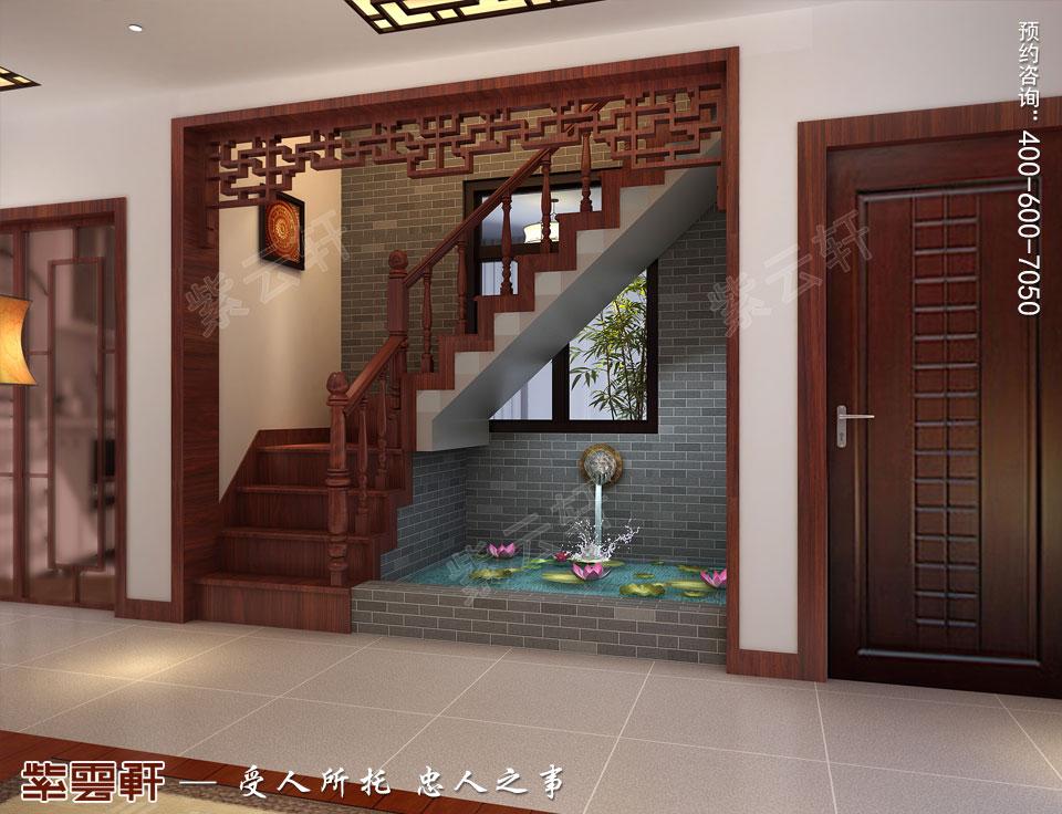 楼梯间古典中式装修