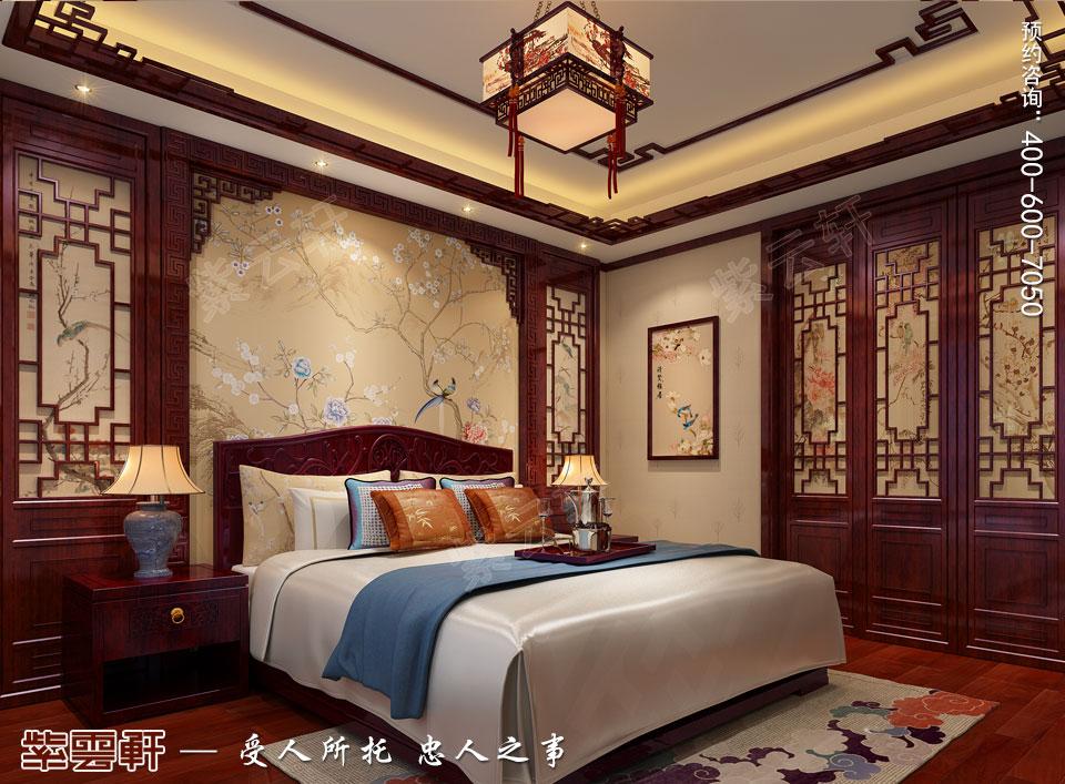 主卧室古典中式风格装修图片