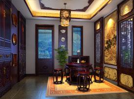 辽宁盘锦复式楼的简约复古中式风格 赏心悦目谁家院