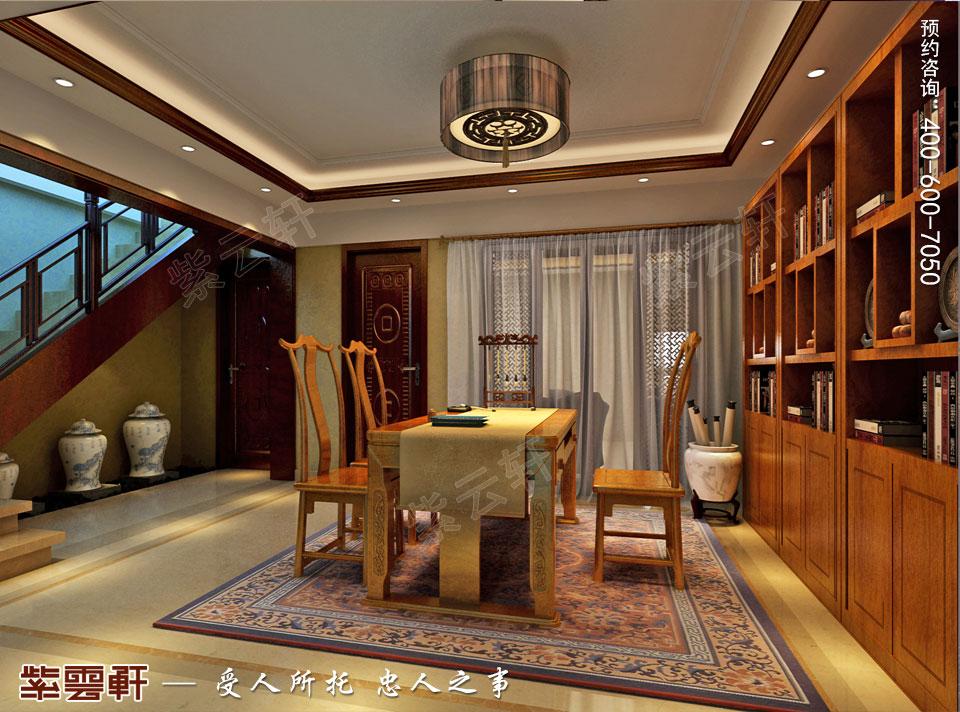 书房现代新中式风格装修