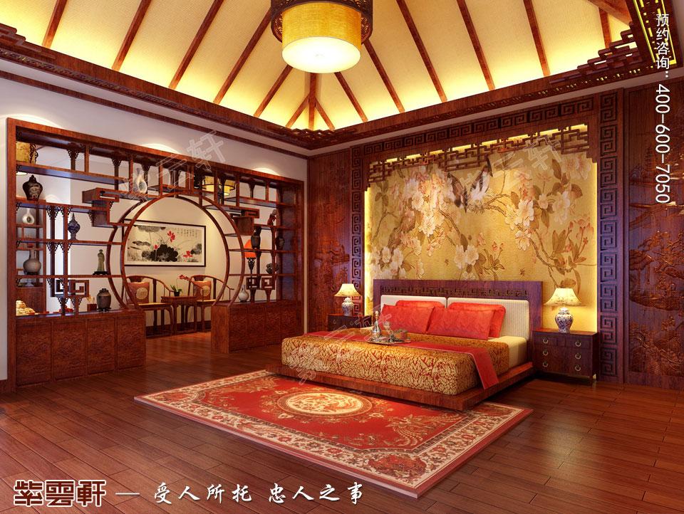 卧室现代中式风格装修图片