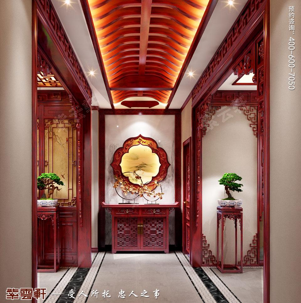 门厅中式装修图