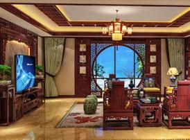 陕西汉中古典中式风格装修效果图 诗意栖居