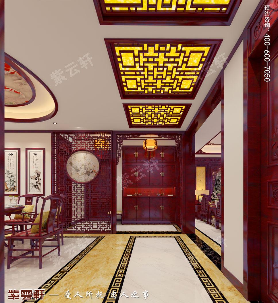 走廊简约中式装修效果图
