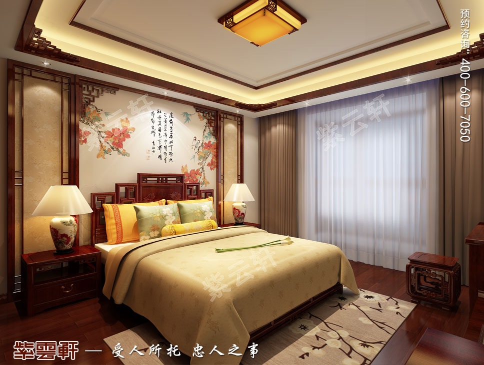 卧室中式装修设计