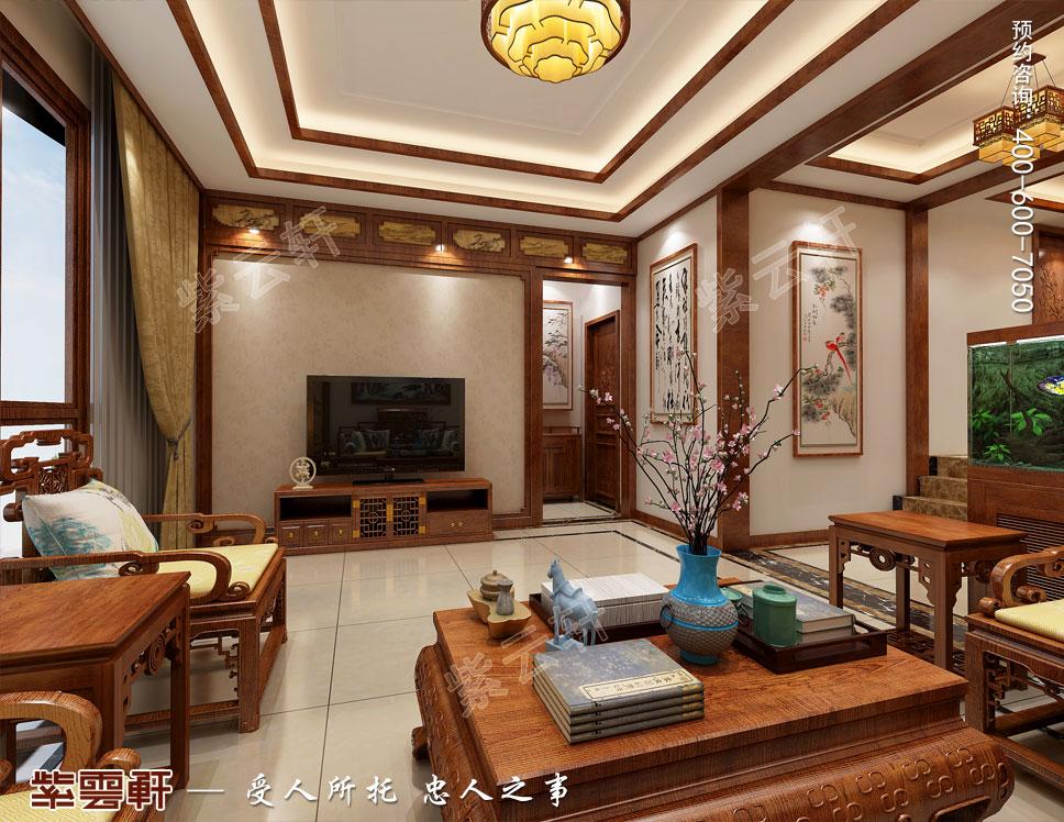 客厅中式装修设计