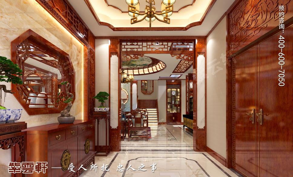 门厅<a href=http://www.bjzyxuan.com/ target=_blank class=infotextkey>中式装饰</a>设计