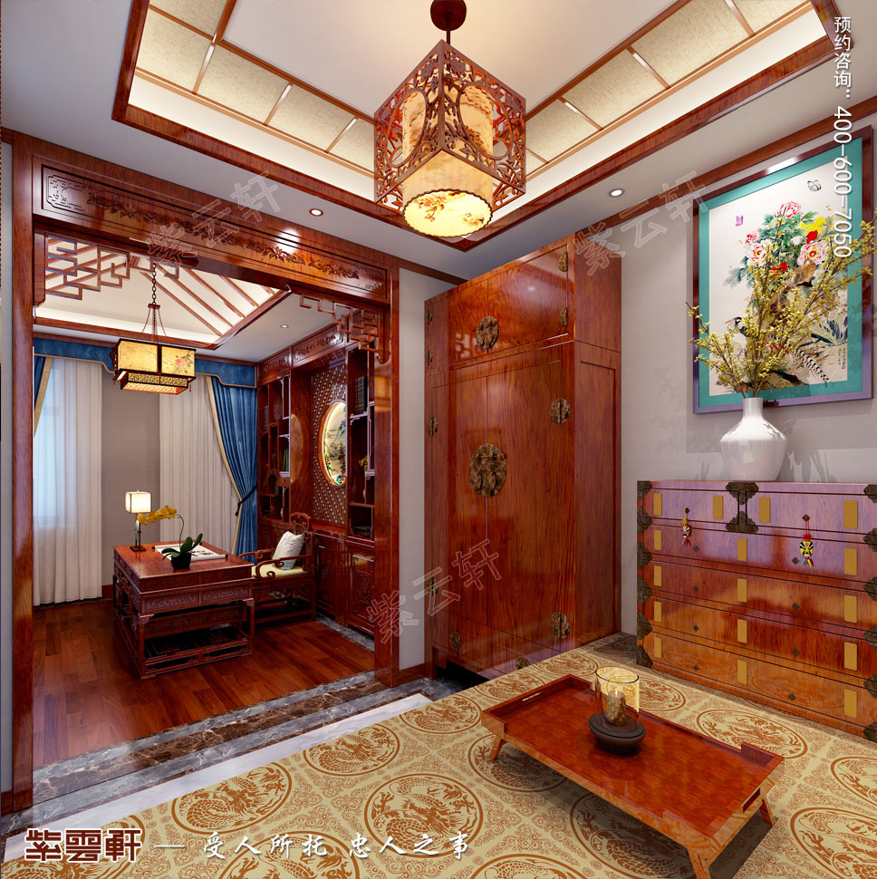 暖阁中式装饰设计