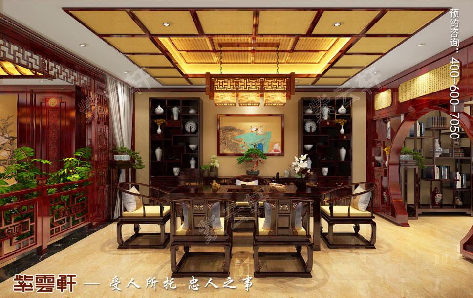 茶室中式装饰设计