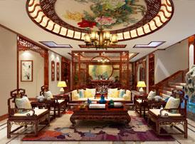 山东聊城现代中式装饰设计效果图   雅致出尘的欢喜之地
