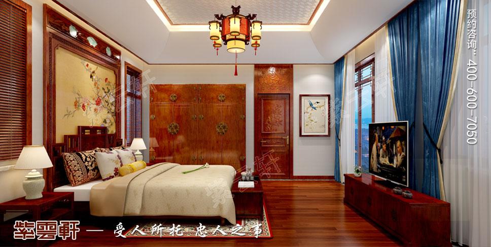 卧室中式装饰设计