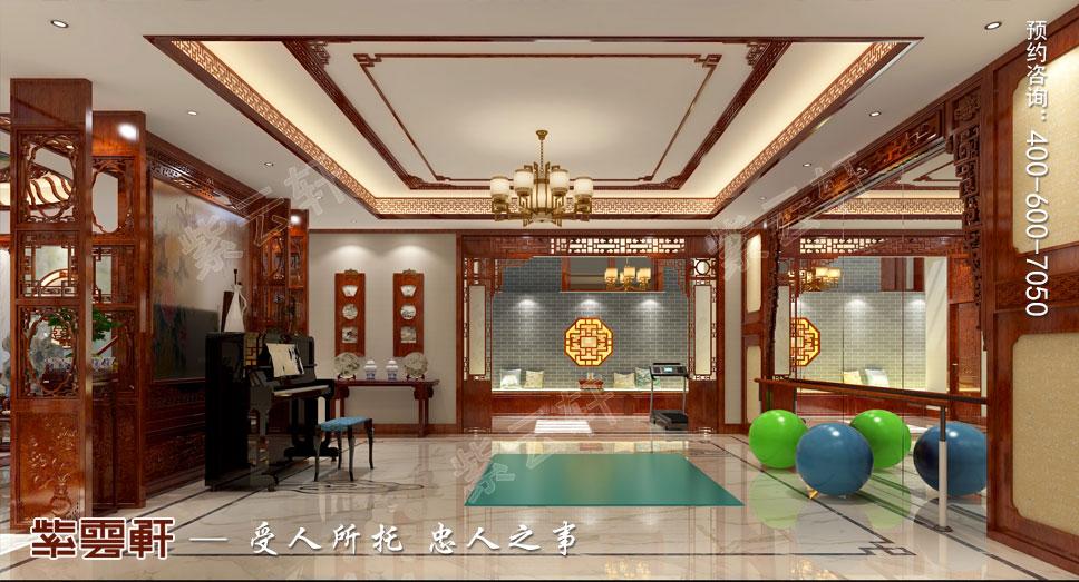 瑜伽室中式装饰设计