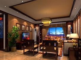 北京钓鱼台别墅豪宅古典中式风格装修案例  华美温馨古典优雅
