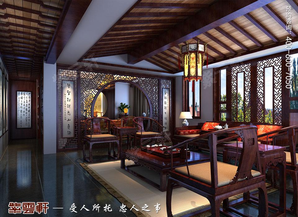 二楼起居室中式装修