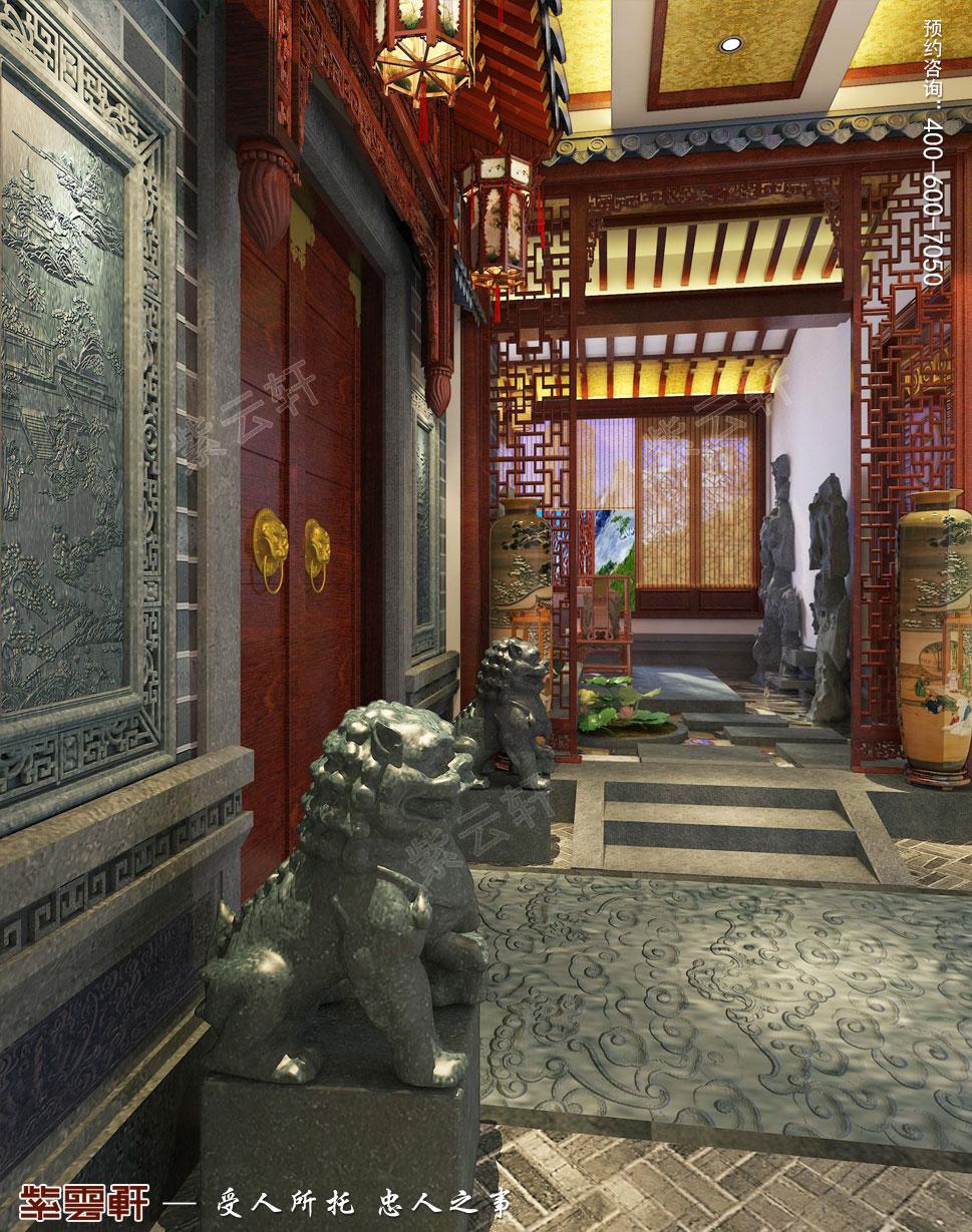 入门花园中式装修