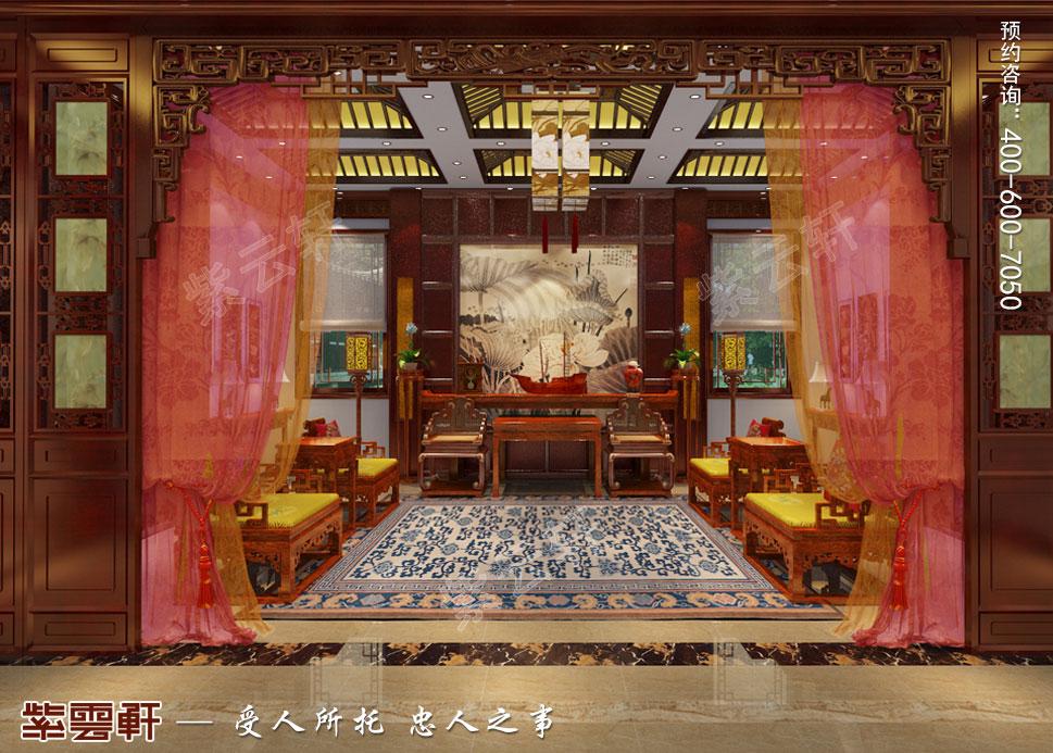 中堂中式装修