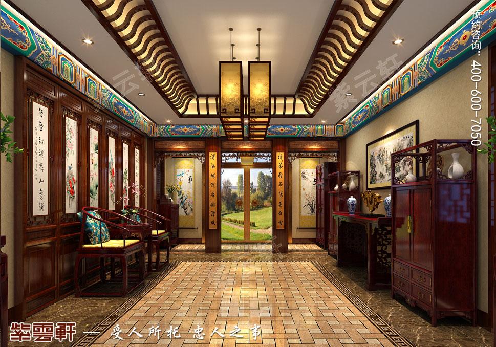 过厅中式装修