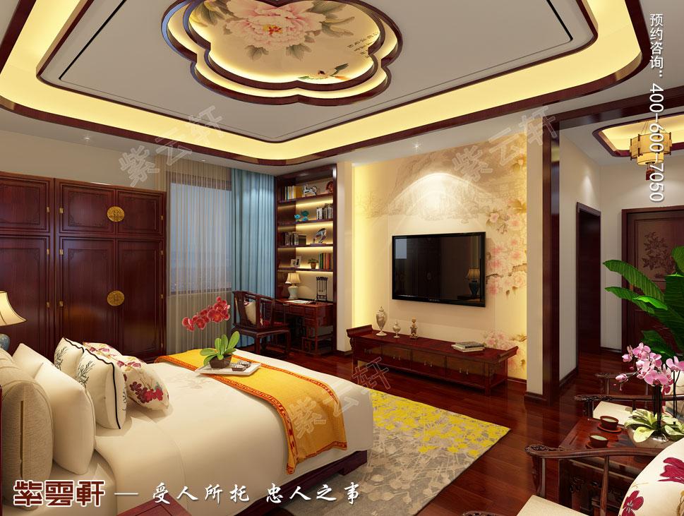郑州豪宅二女儿房古典中式装修效果图