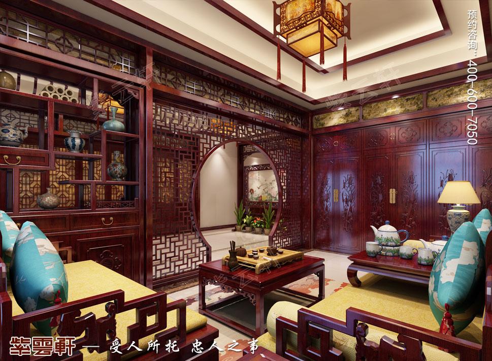 别墅会客厅中式装修.jpg