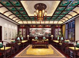 内蒙古赤峰泰和府第别墅豪宅古典中式装修效果图  端庄显高贵,典雅赋荣华