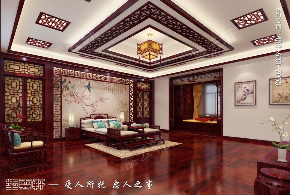 别墅老人房中式装修.jpg