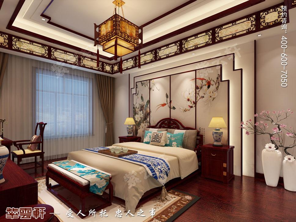 女孩卧室中式装修.jpg