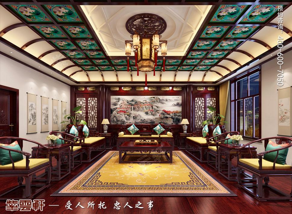 别墅客厅中式装修.jpg