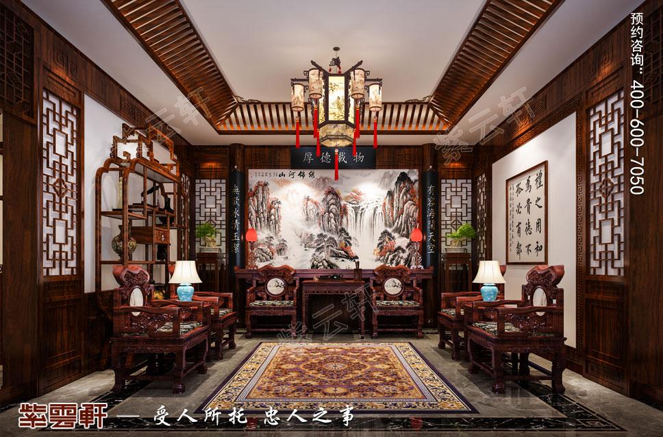 豪宅中堂中式装修